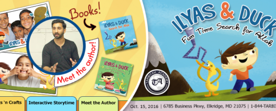 Oct15: Ilyas & Duck Author's Visit & Workshop