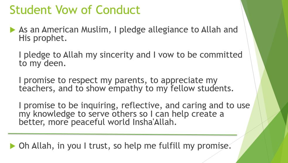 student-vow-of-conduct