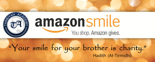 Amazon Smiles on Tarbiyah!