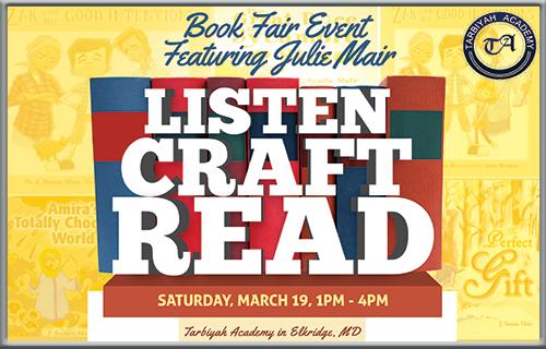 Listen Craft Read w Julie MairSM